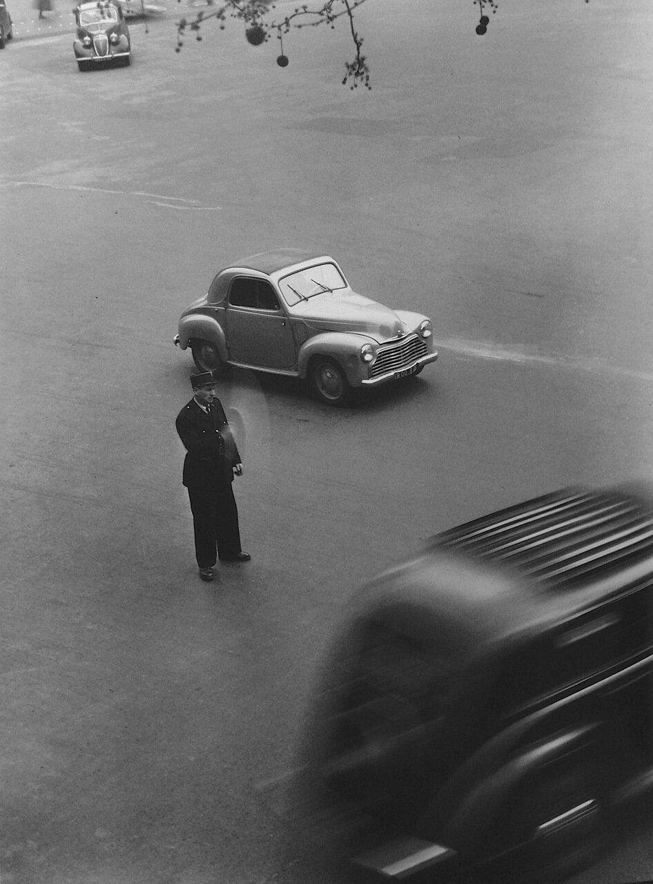 1951. Площадь Мадлен