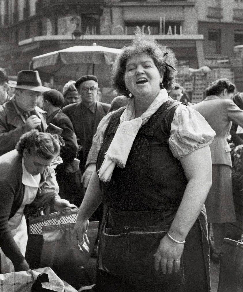 1953. Рынок в Ле-Аль