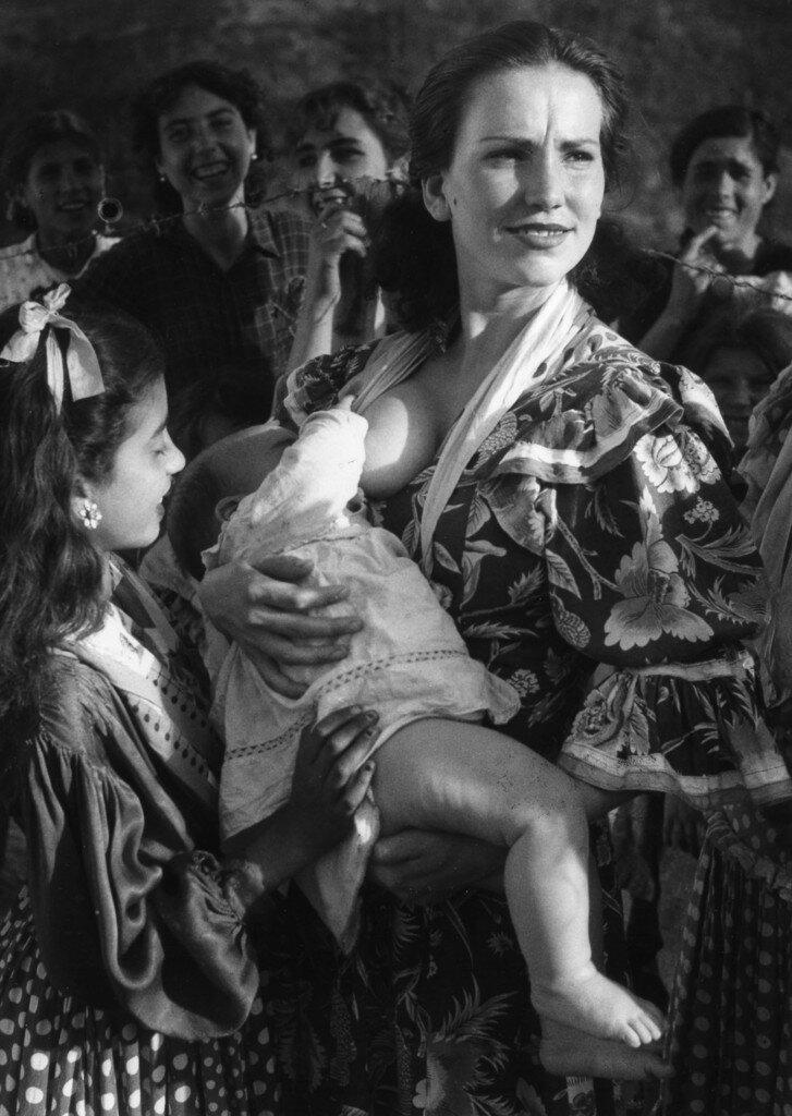 1951. Цыгане Сакромонте. Гранада, Испания