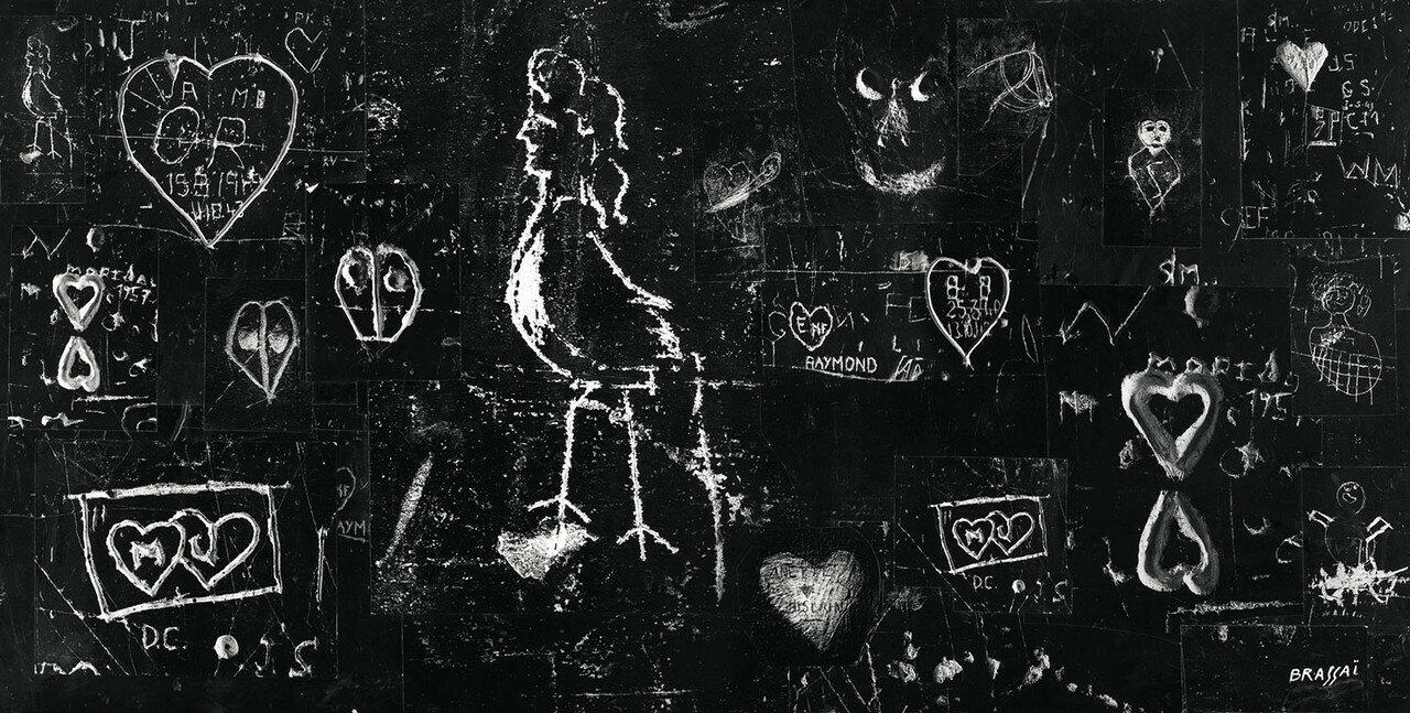 1968. Граффити майского Парижа