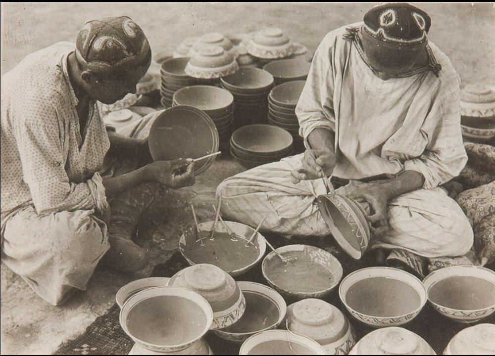 1920-е. Таджикистан. Местные ремесленники