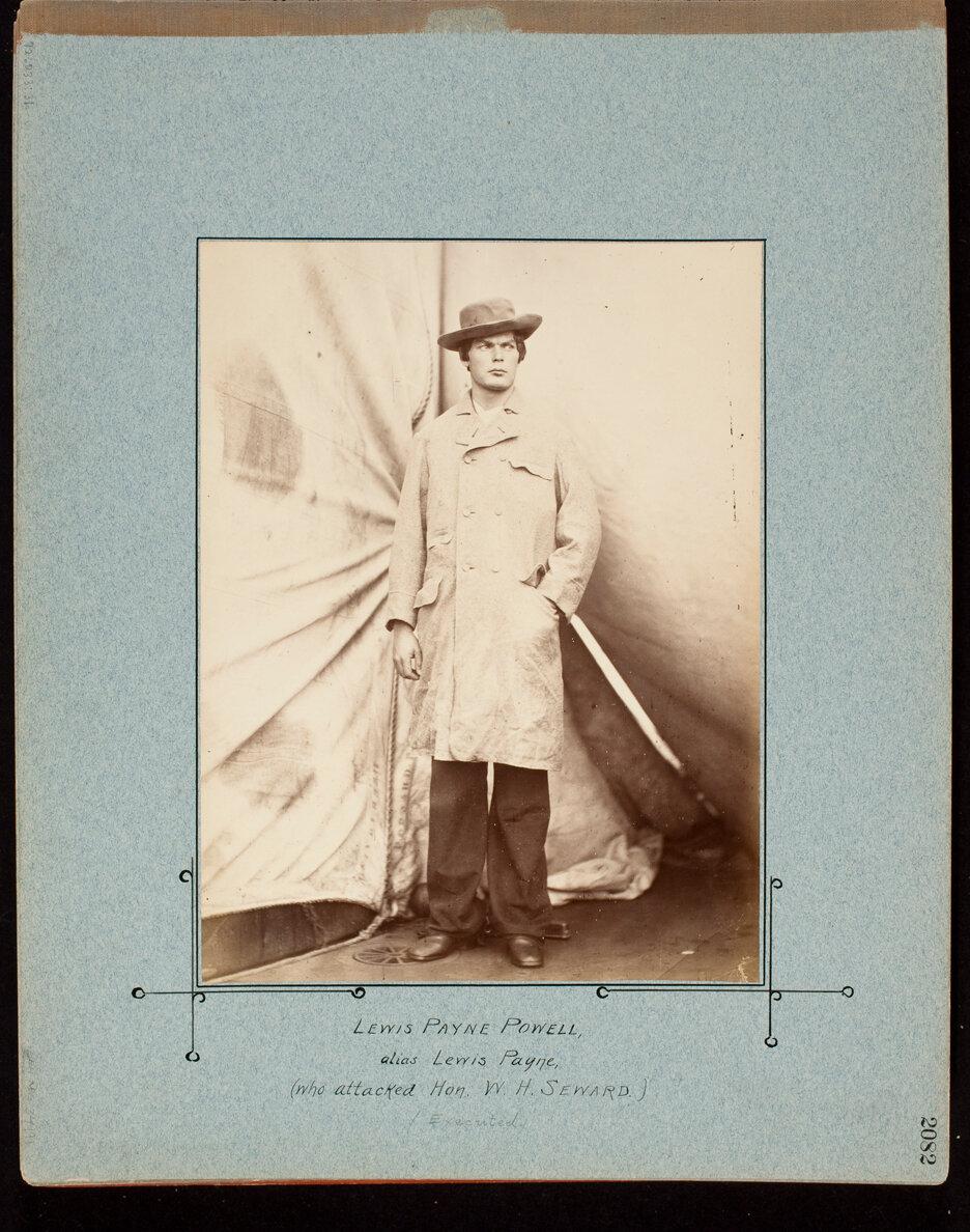 Lewis Payne Powell, alias Lewis Payne, Who Attacked Hon. W.H. Seward