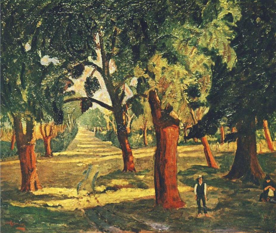 Пробковые деревья возле Мимизана.png