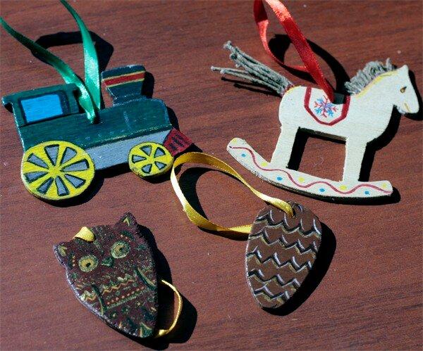 Игрушки на елку, творим всей семьей - Дом украшаем своими руками, сюрпризы и подарки делаем сами - Форум-Град
