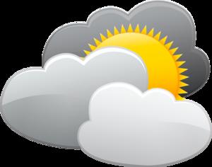 облако, солнце