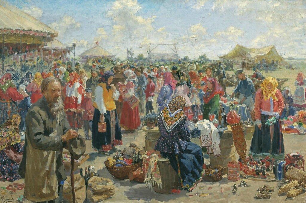0504.Kulikov.Ivan.Iarmarka.1910.holst.maslo.jpg
