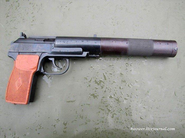 Бесшумные советские пистолеты