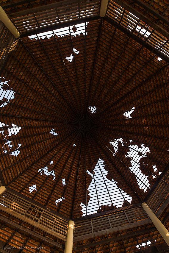 Фото 15. Абстракции. Достопримечательности в окрестности Хухаина. Поездка по Таиланду за рулем арендованной машины  (100, 14, F=8.0, 1/400, камера Nikon D610, объектив Samyang 14/2.8)