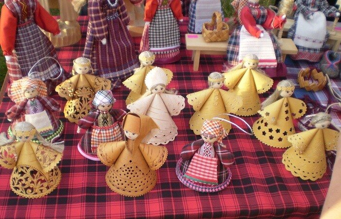 Куклы сувениры своими руками