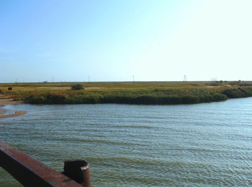 На мосту через гирло Богаз... SDC14756.JPG