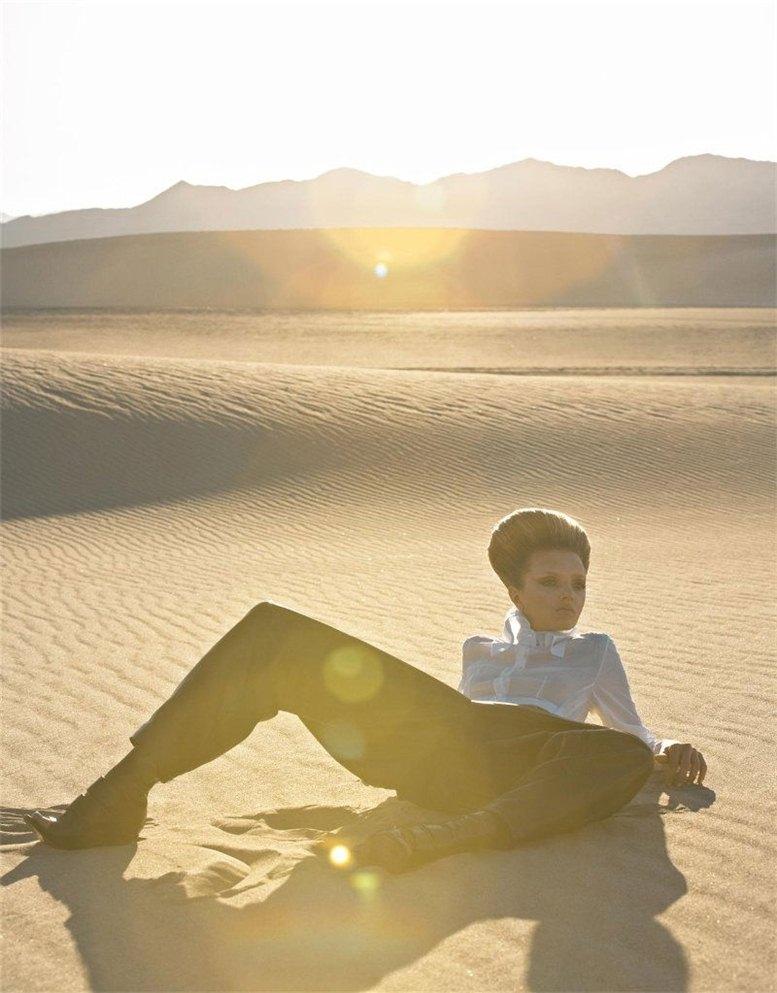 модель Лили Дональдсон / Lily Donaldson, фотограф Solve Sundsbo