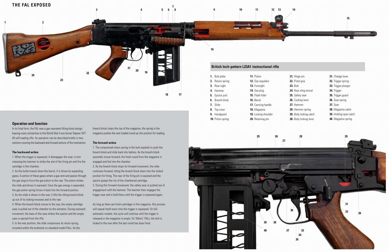 FAL - легкая автоматическая винтовка образца 1953 года (Бельгия)