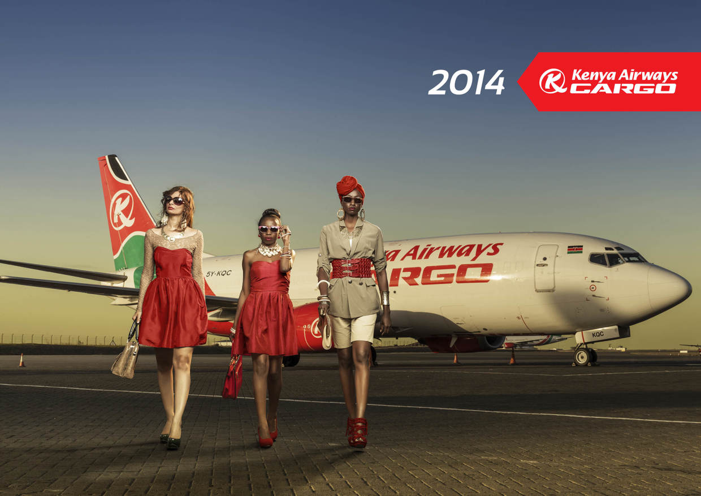 Африканские красавицы на страницах календаря от авиакомпании Kenya Airways Cargo (1)