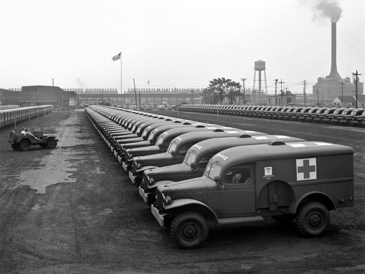 Специализированные транспортные средства начала 20-го века на снимках американских фотографов (68)