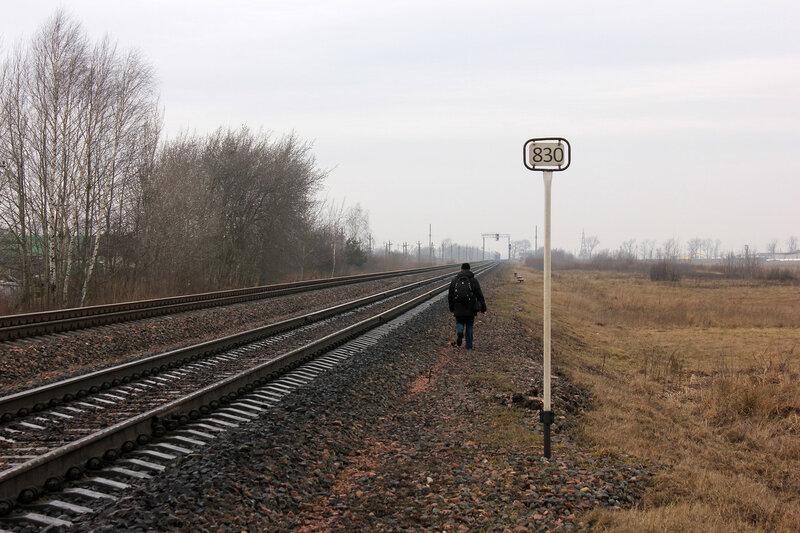 Денис на 831 км станции Молодечно