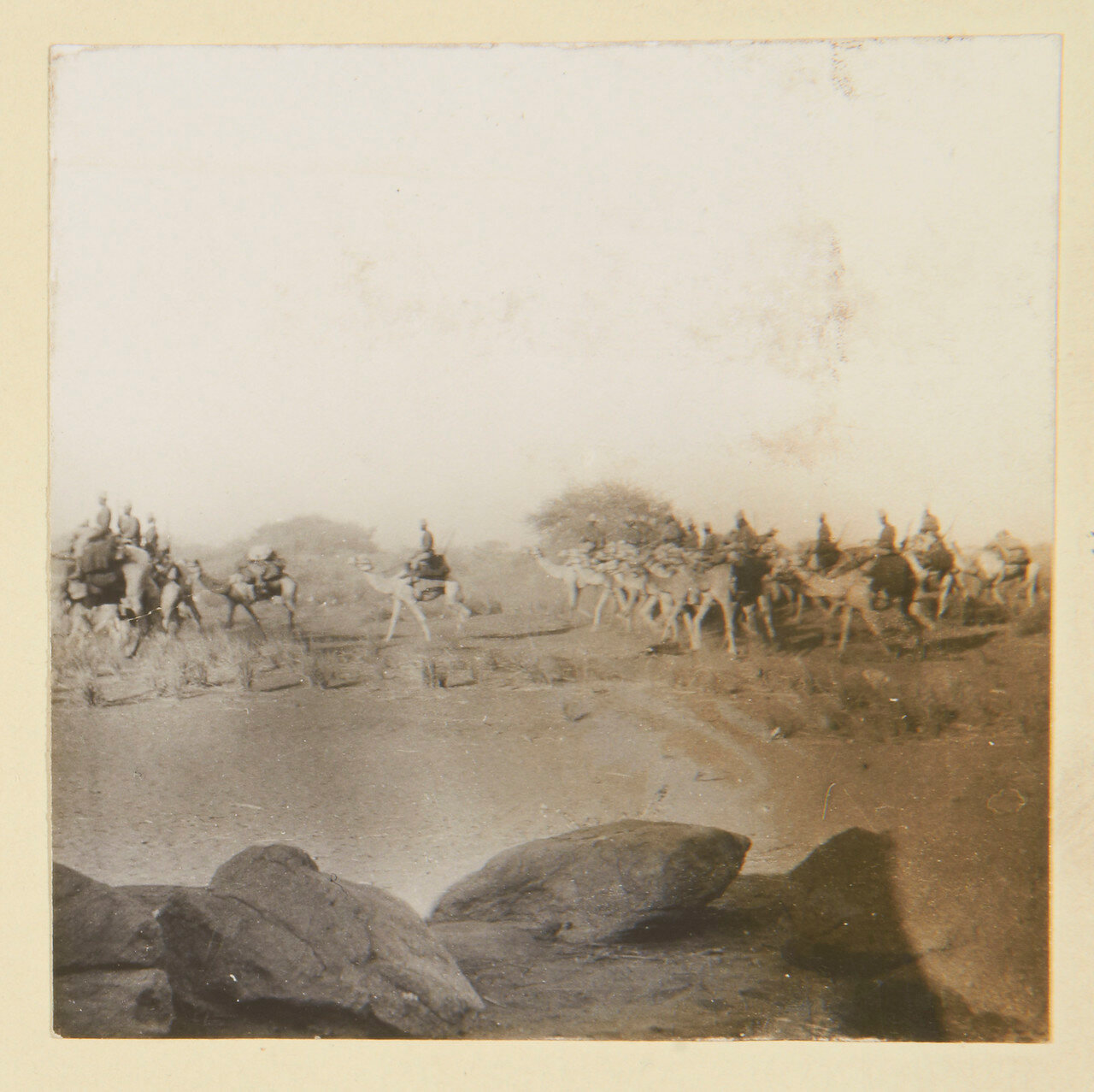 Август 1898. Египетский Верблюжий корпус