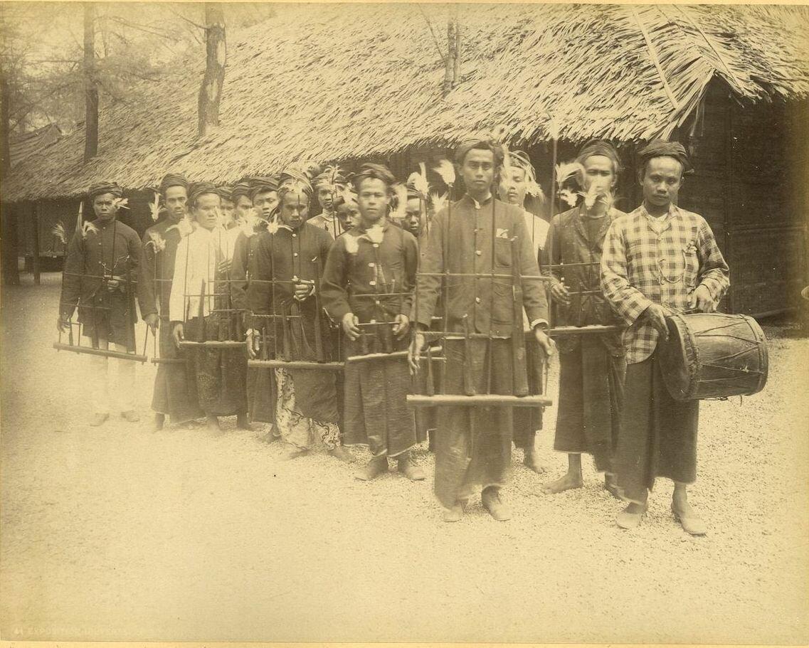 Яванские музыканты