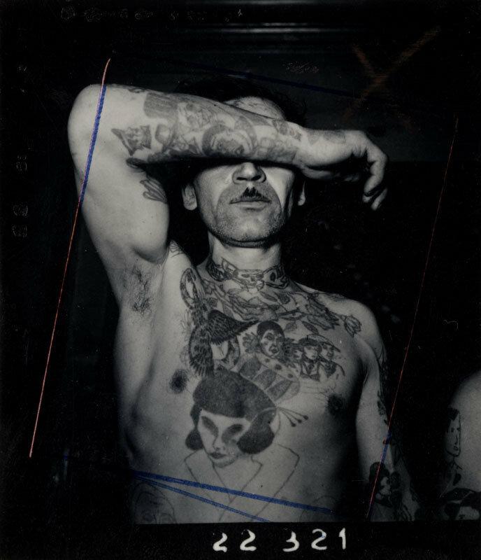 1950. На конкурсе тату