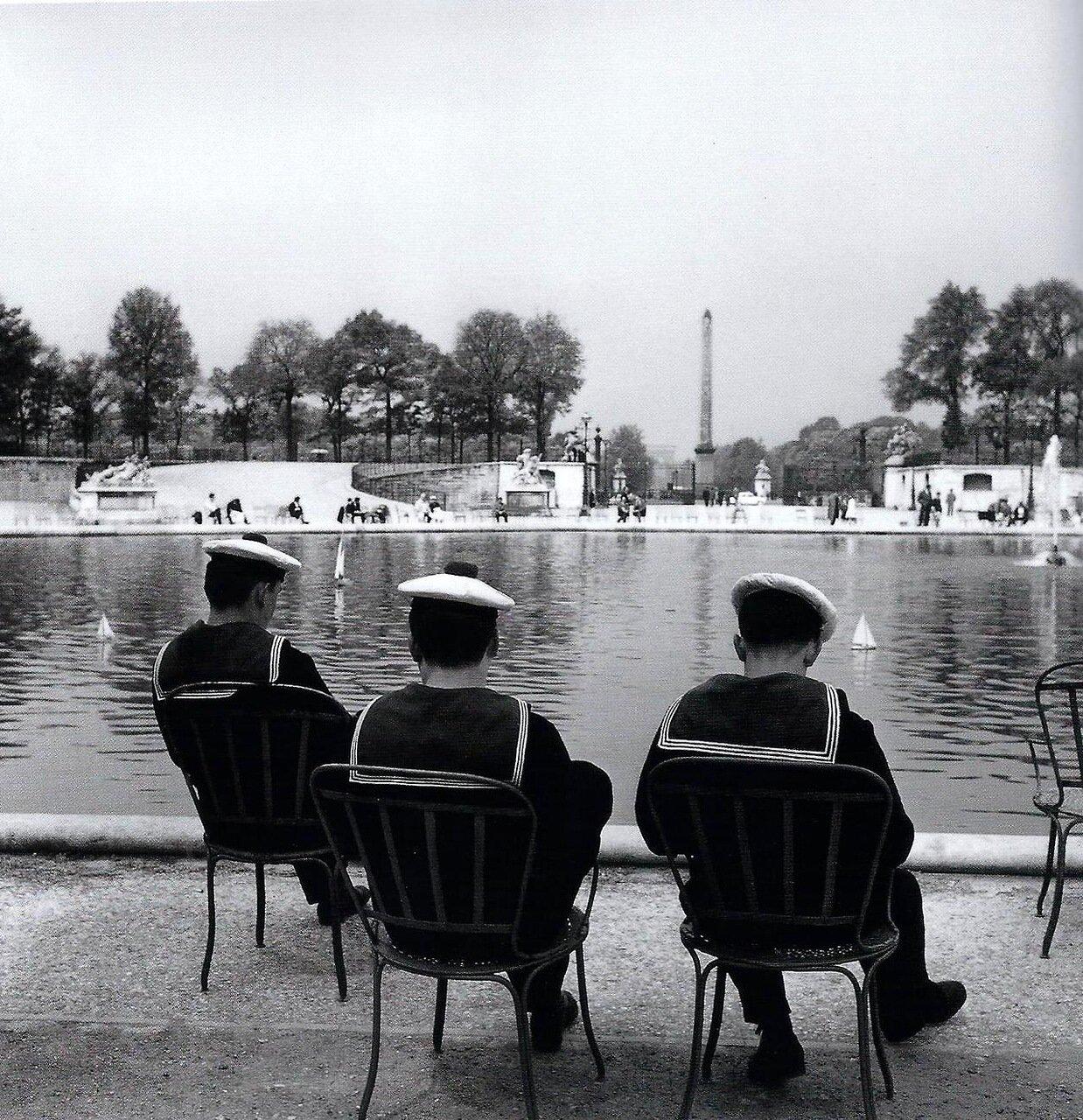 1959. Сад Тюильри