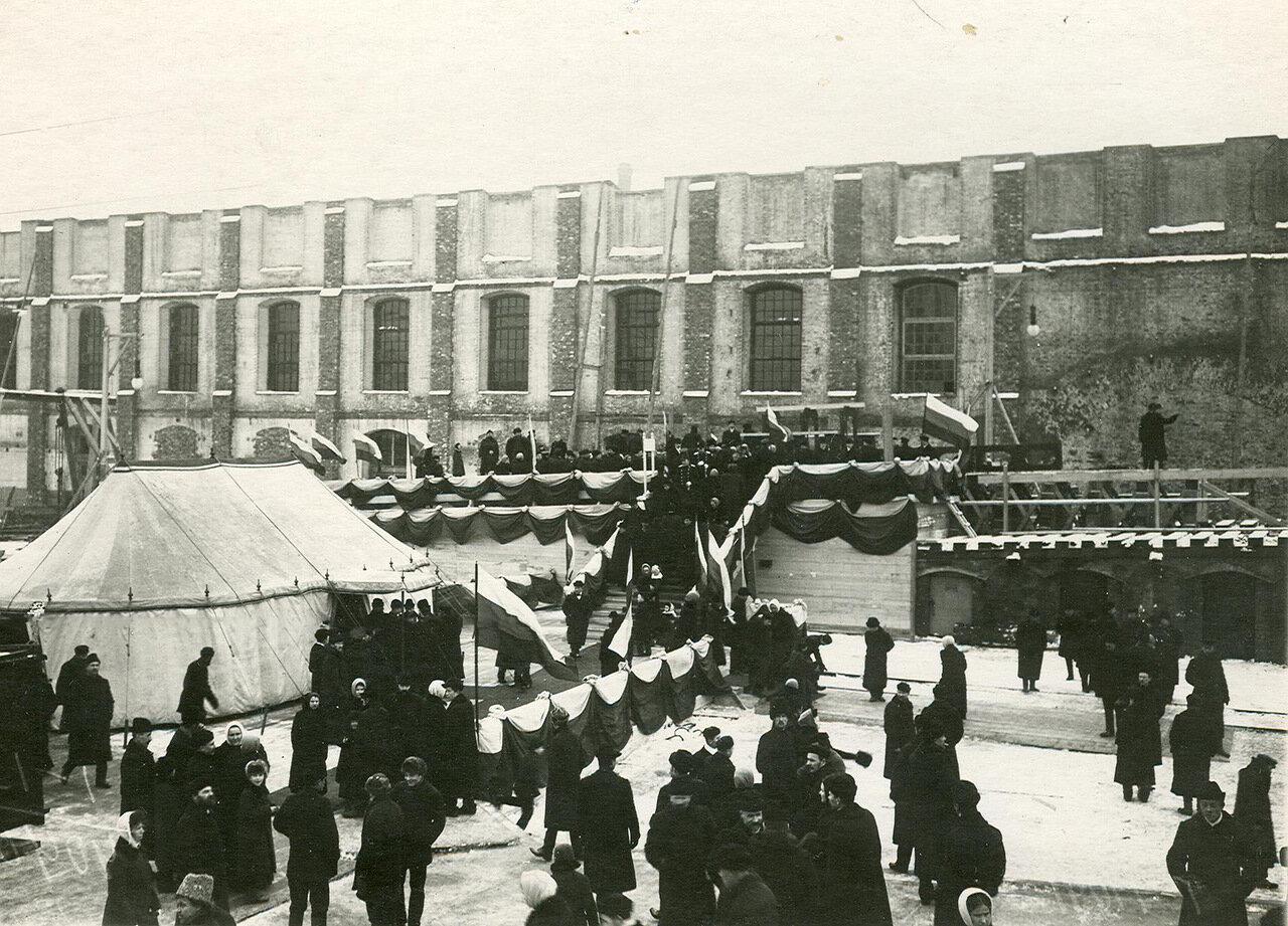 25. Закладка линейных крейсеров «Бородино», «Наварин» , «Кинбурн», «Измаил». 6 декабря 1912