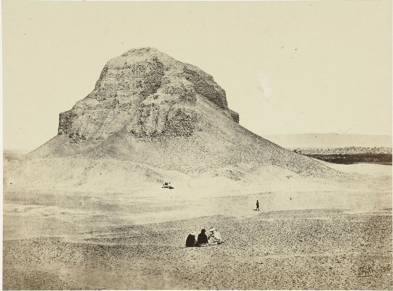 Дахшур. Пирамида Аменемхета III.1858