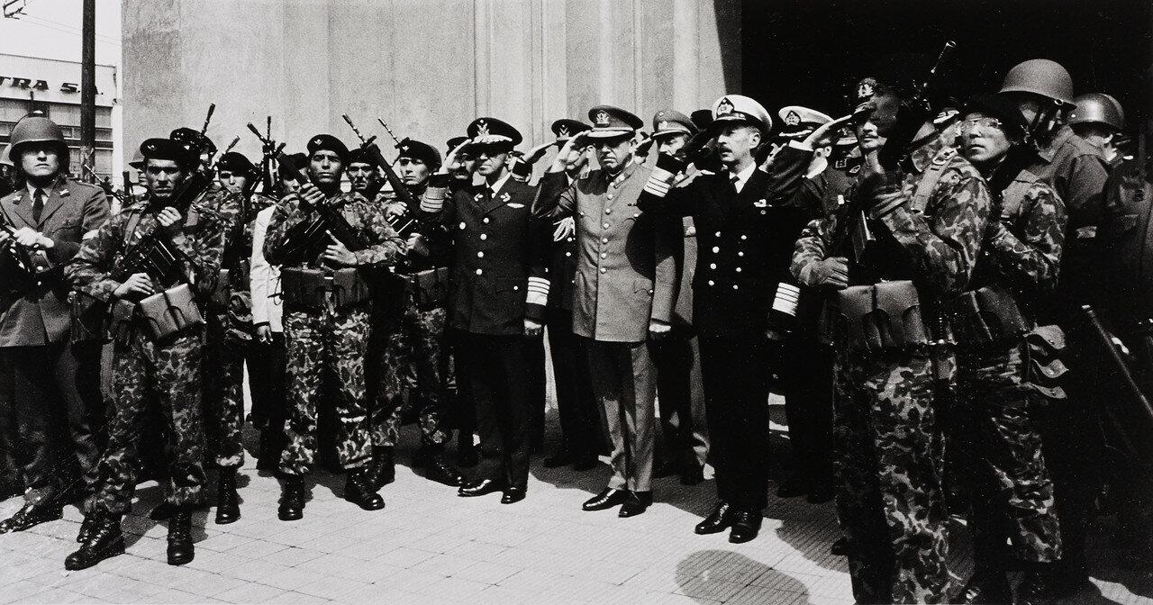1974. Инагурация Пиночета