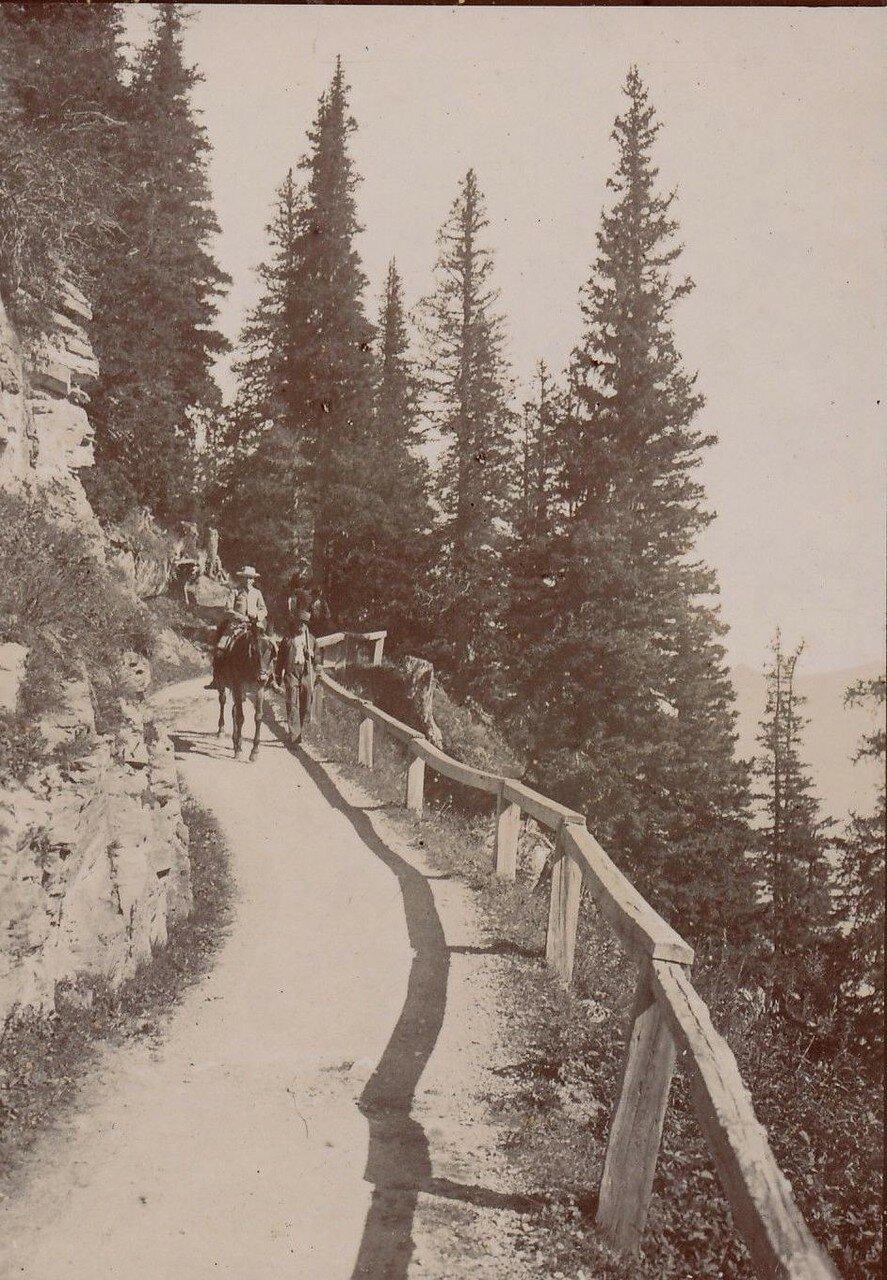 Дорога через перевал Гемми