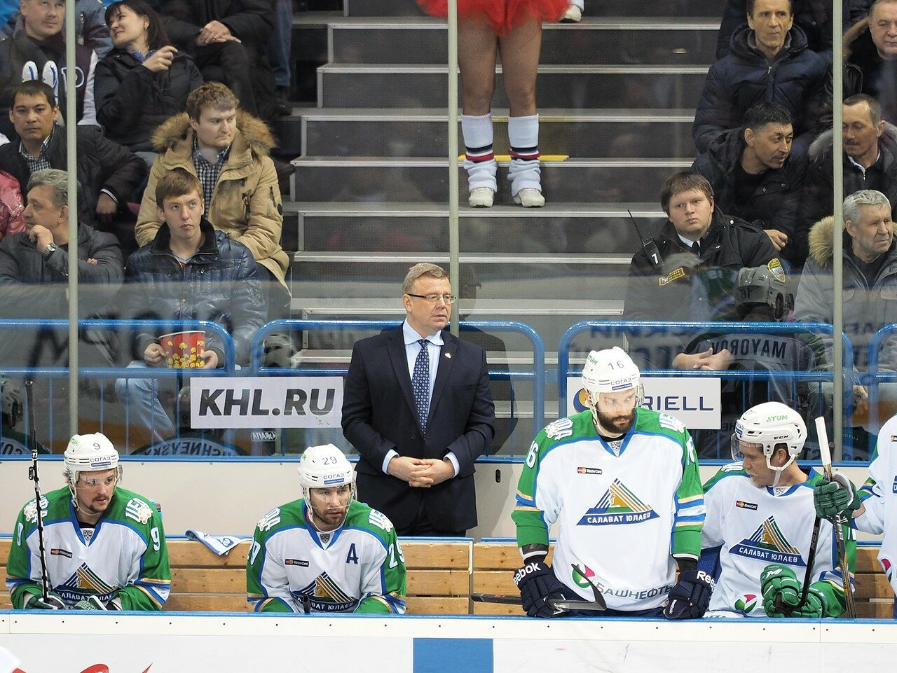 76Плей-офф 2016 Восток Финал Металлург - Салават Юлаев 23.03.2016