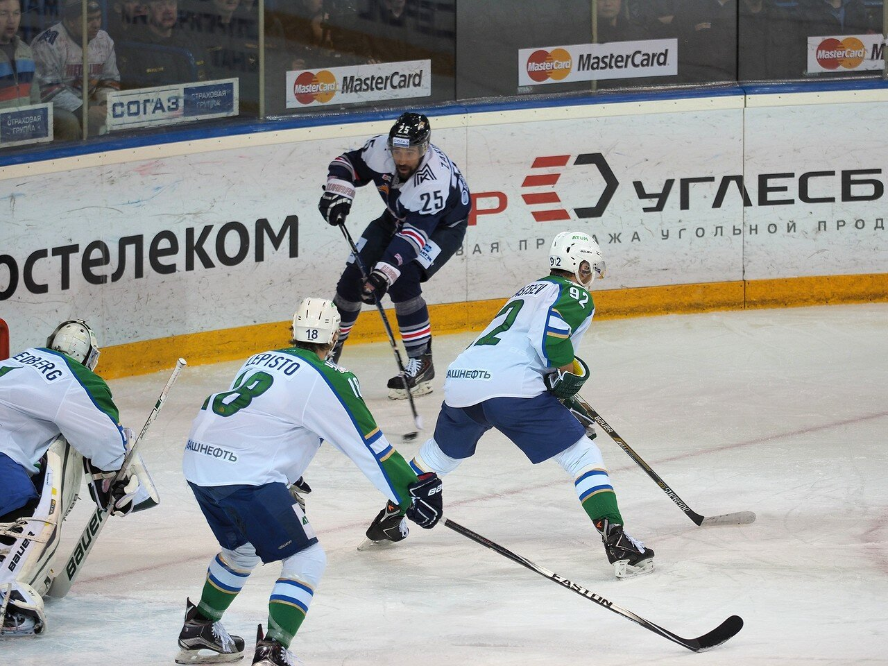 80Плей-офф 2016 Восток Финал Металлург - Салават Юлаев 23.03.2016