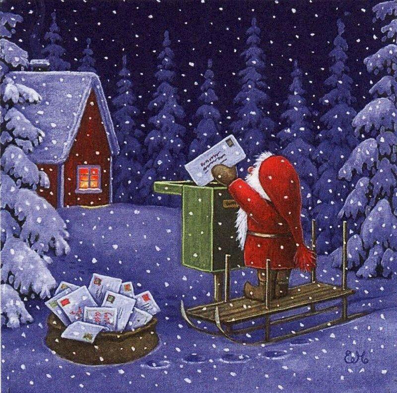 открытки рождество волшебство рождества можете оставить