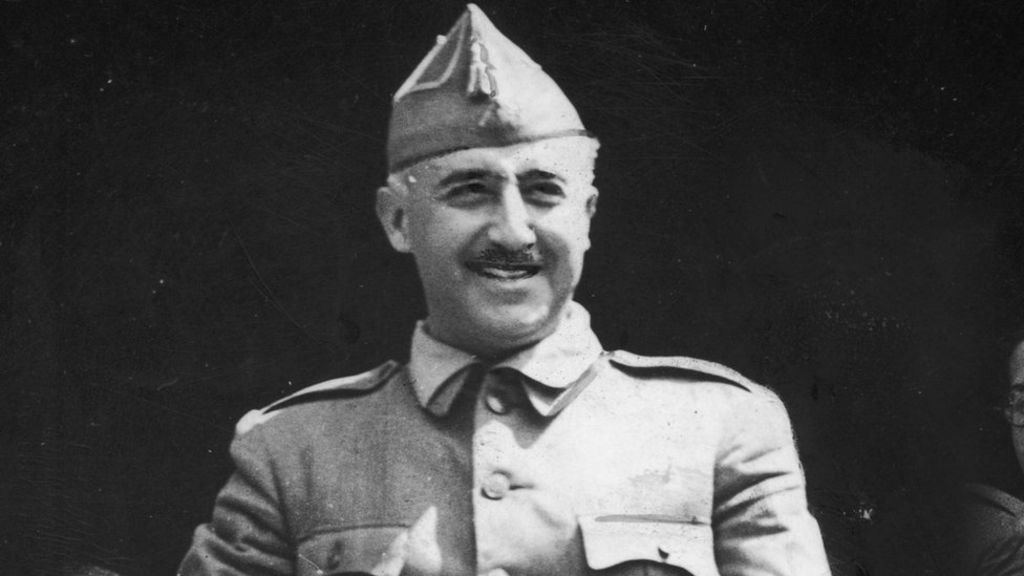 francisco franco a k a el caudillo dictator Spain's opposition parties have voted to move the remains of fascist dictator francisco franco out of during a ceremony at el pardo while san francisco.