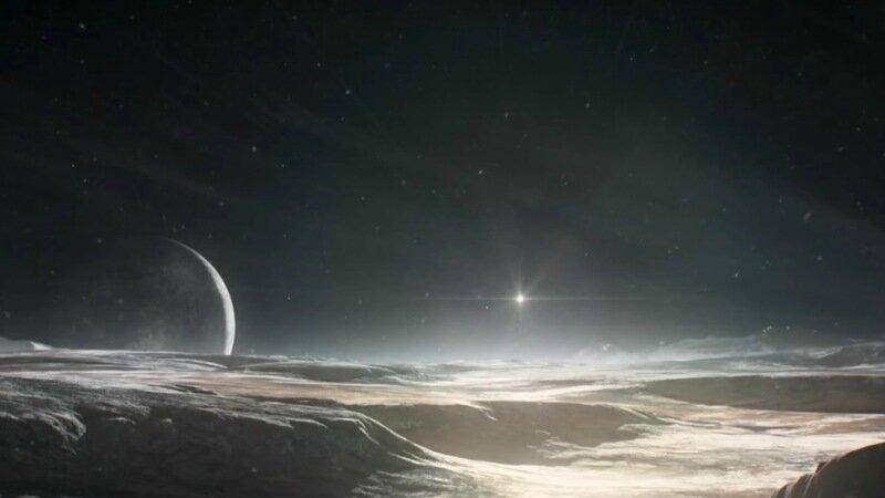 Видео пролета над Плутоном автоматической станции New Horizons