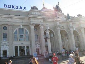 Путешествие и отдых в Одессе - железнодорожный вокзал