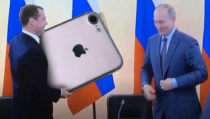 Путин и медведев и новый год прикол