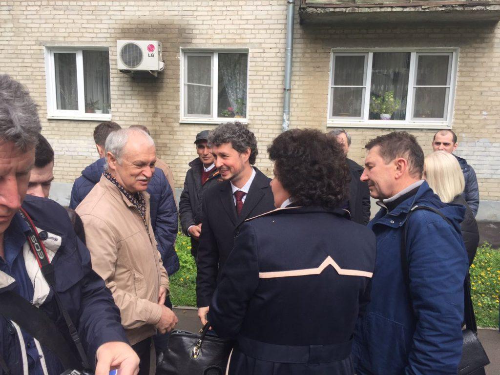ВРостов поддержать подсудимого Хуруджи приехал бизнес-омбудсмен Борис Титов
