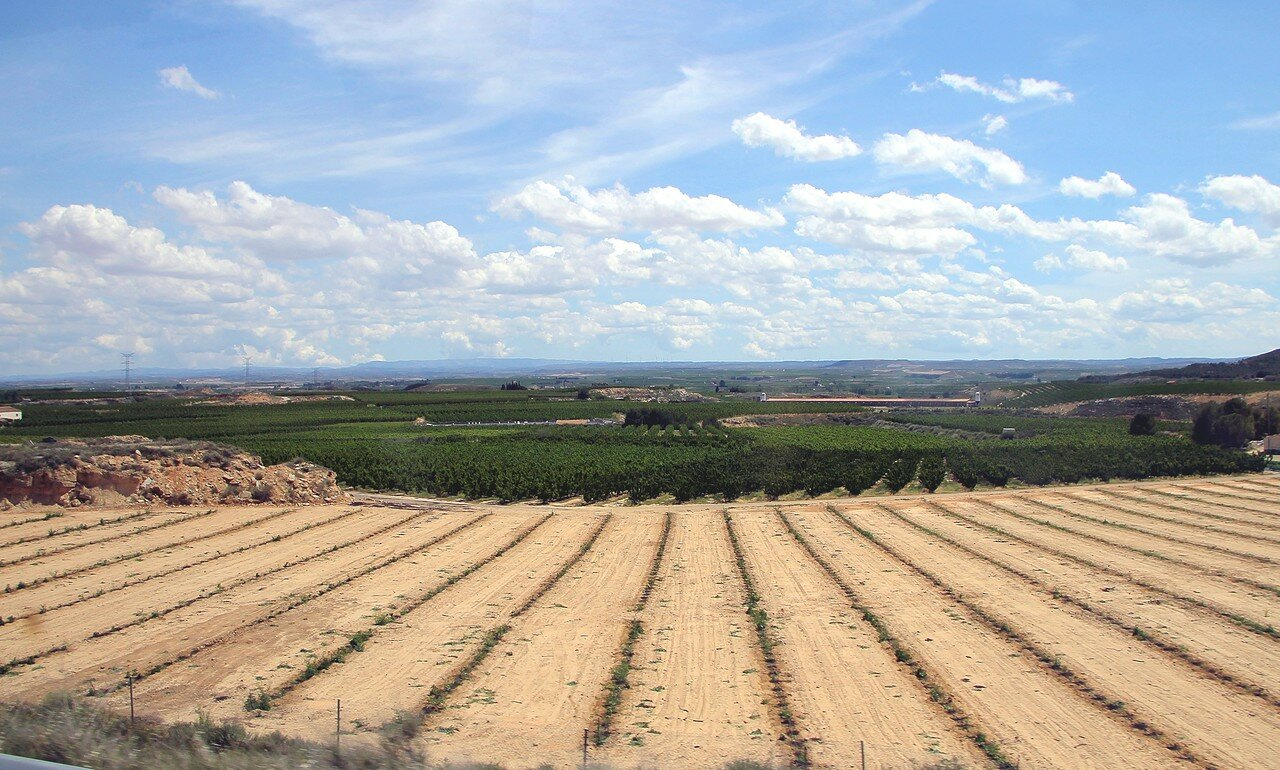 North-West Catalonia landscape