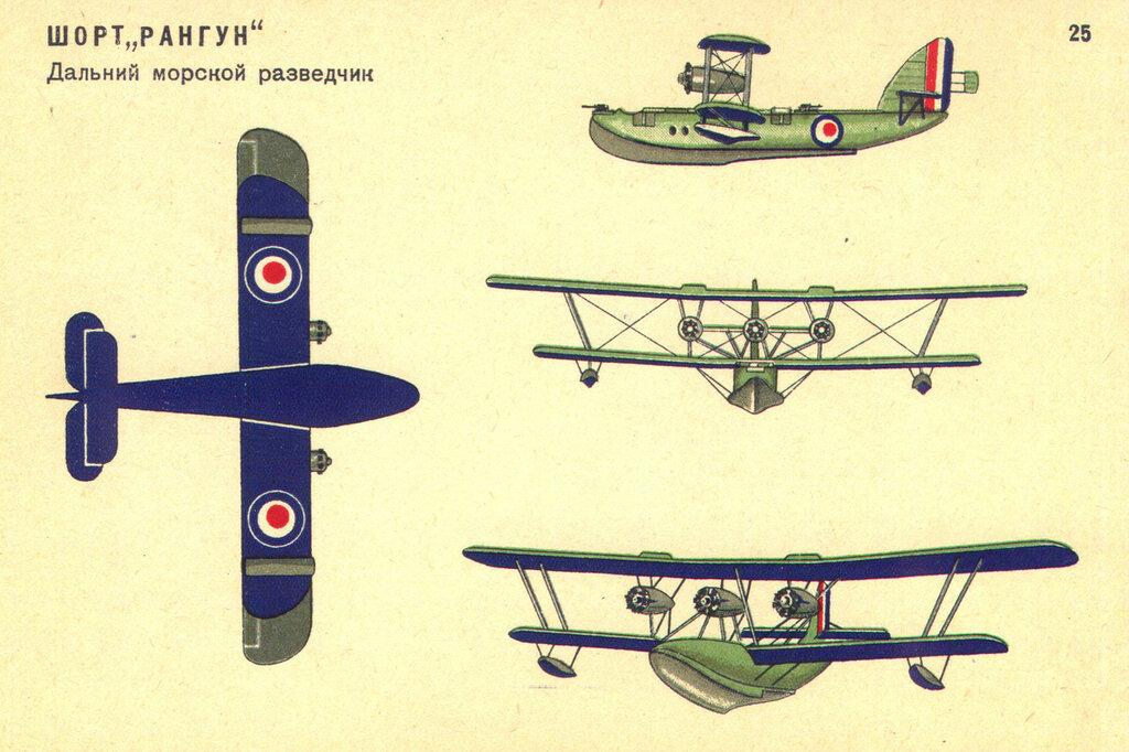 Военные самолеты Англии (1934) 25
