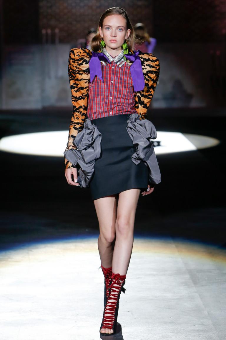 Неделя моды в Милане: Dsquared? весна-лето 2017
