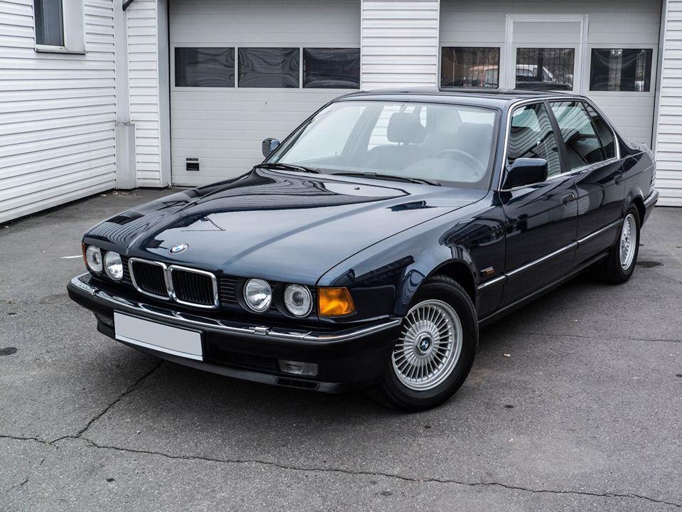 BMW 750iL Highline 1989: Одним словом – Флагман (18 фото)