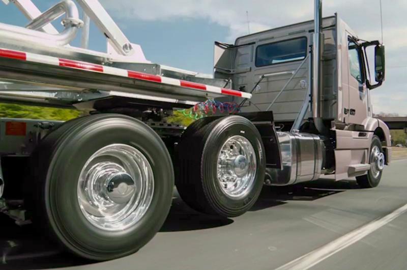 Балласт Видели грузовики с поджатыми осями? Все просто: из трех осей таких машин лишь одна ведущая,