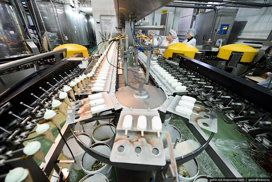 Оборудование позволяет выпускать до 1,2 тысяч тонн в месяц всевозможных видов мороженого. Исход