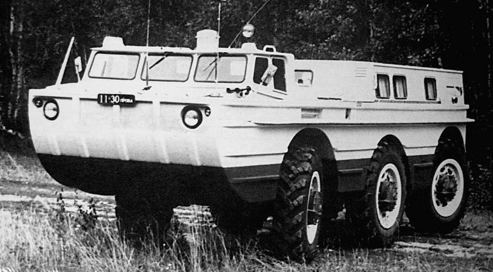 ПЭУ-1М с раздельными кабиной и восьмиместным пассажирским салоном