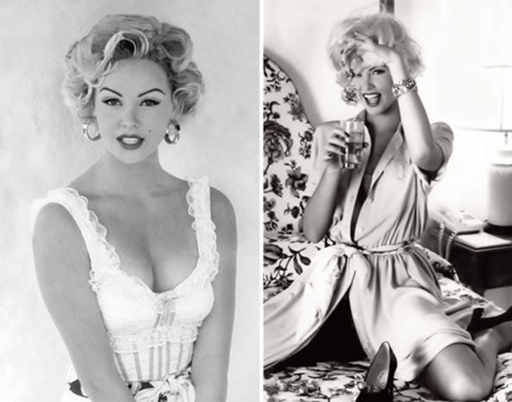 До начала актерской карьеры Шарлиз Терон работала моделью в Европе. На фото 18-летняя Шарлиз изображ