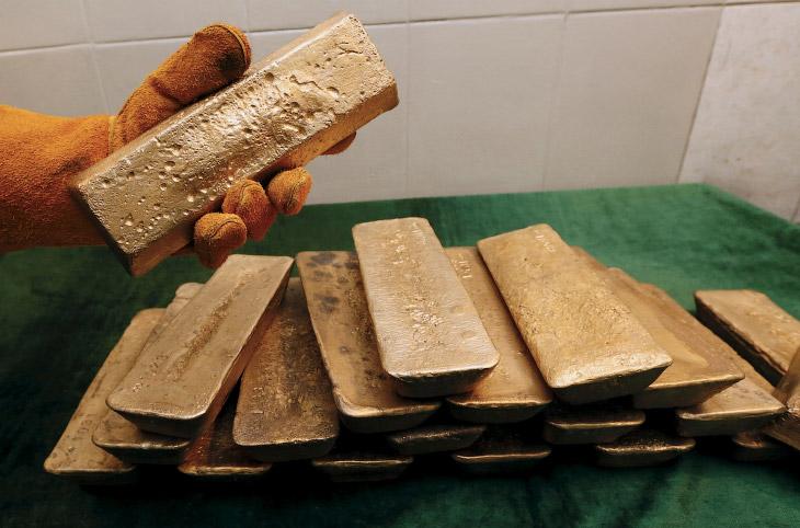 1. Залежи золота расположены в 65 км от города Северо-Енисейска. (Фото Ilya Naymushin | Reuters