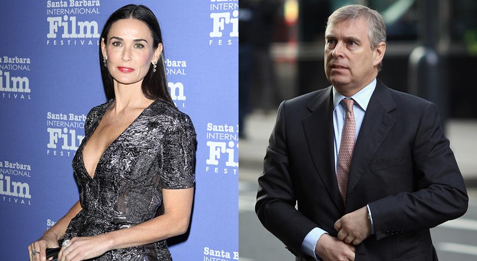 СМИ узнали оромане Деми Мур с английским принцем