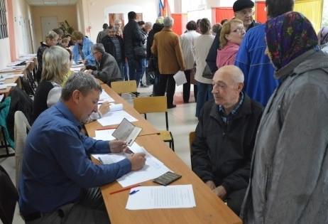 ВЛипецкой области проголосовали практически 165 тыс. человек