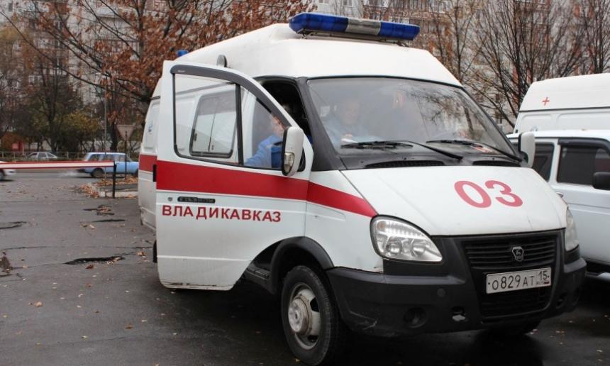 ВоВладикавказе при столкновении синомаркой умер шофёр «скорой»