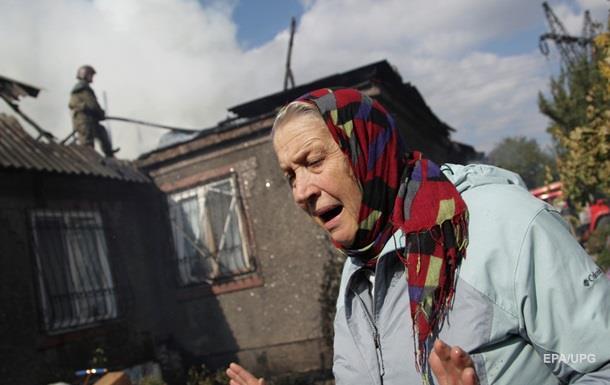 Врезультате обстрела НВФ местный гражданин ранен вголову— Марьинка