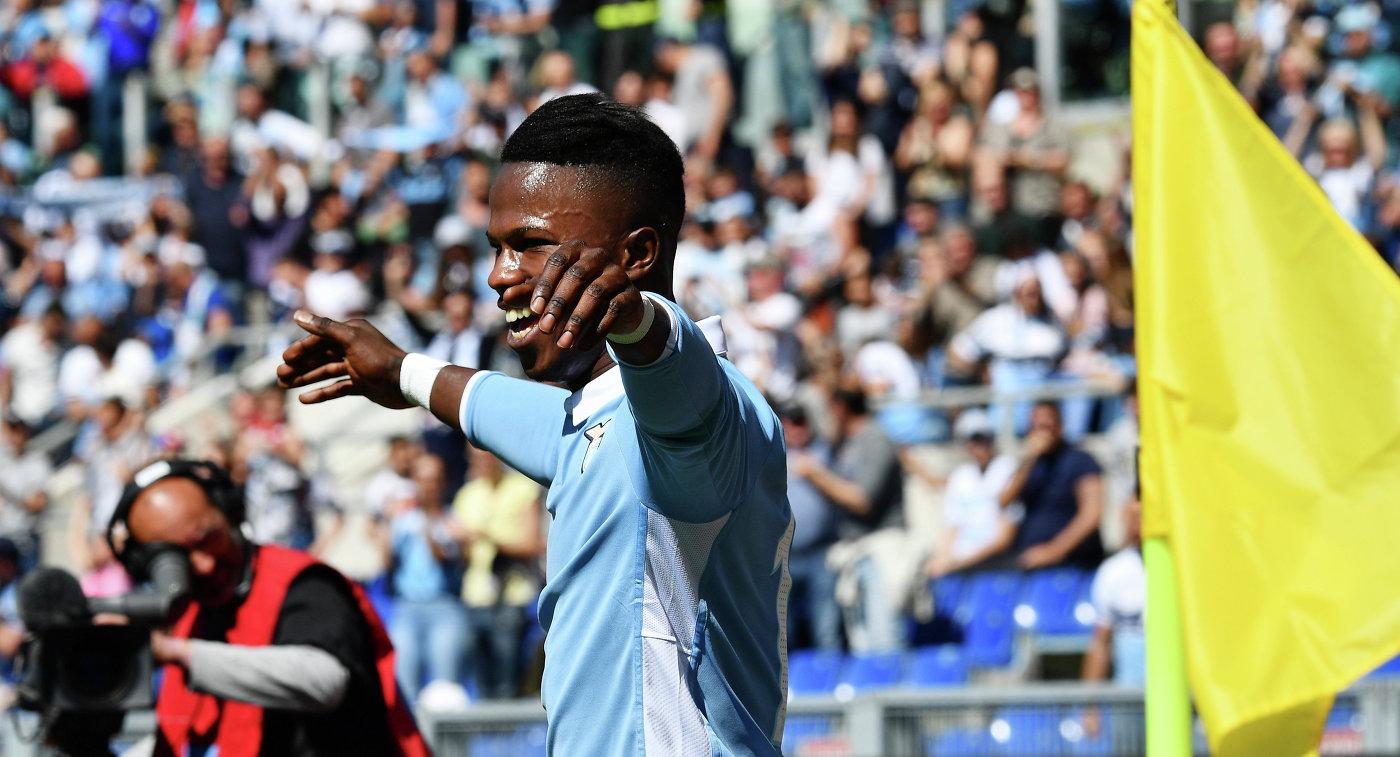 «Лацио» разгромил срезультатом  6:2 «Палермо» вчемпионате Италии пофутболу