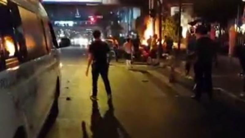 Вцентре Бангкока сработало взрывное устройство